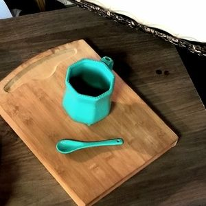 Small Rolling Wooden Cutting Board